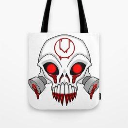 Cursed Chaos Skull Tote Bag