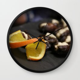 Date with a Twist Wall Clock