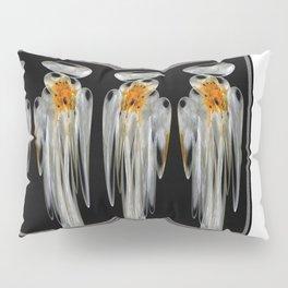 Snow Puff Abstract Pillow Sham