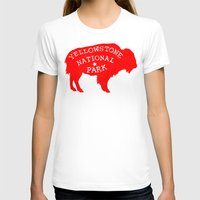 the national T-shirts featuring Yellowstone National Park  by Terry Fan