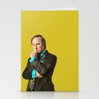 better call saul Stationery Cards featuring Better Call Saul! by dzn_art