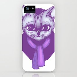Scarf Kitty iPhone Case