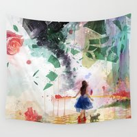 kansas Wall Tapestries featuring Not in Kansas Anymore by Travis Clarke