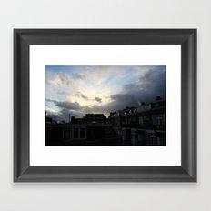 Dutch town Framed Art Print