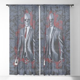 The Gambler Sheer Curtain