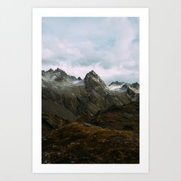 Alaskan Summer Nights in the Alpine Art Print