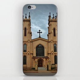 Cathedral At Night iPhone Skin