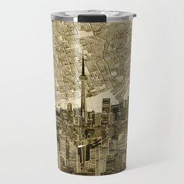 toronto city skyline Travel Mug