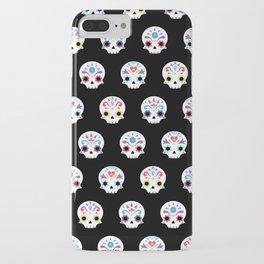 Cute sugar skulls B iPhone Case
