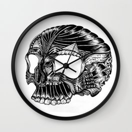 Skull - I Wall Clock