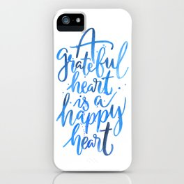 Grateful Heart iPhone Case