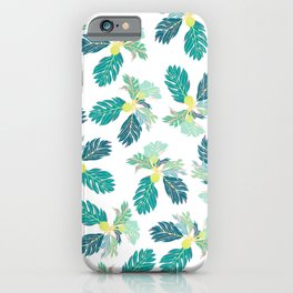 Breadfruit 'Ulu Pattern iPhone Case