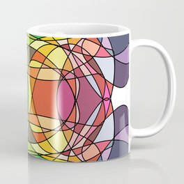 Abstract Curves #4 - Butter Fly Coffee Mug