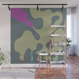 Pouring Wine dark Wall Mural