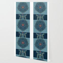 Rubino Zen Flower Yoga Mandala Wallpaper