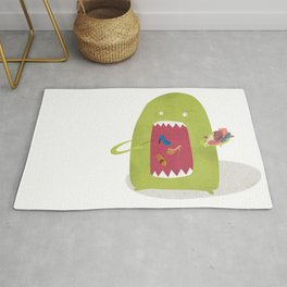 Shoe Monster Rug