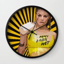 Fergie M.I.L.F money Wall Clock