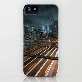 Gotham in the dark New York 2017 iPhone Case