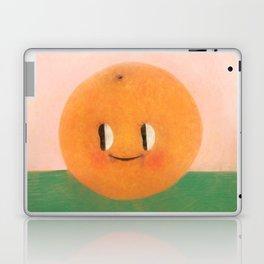 Happy happy Tangerine Laptop & iPad Skin