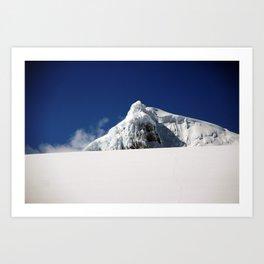 the summit  Art Print