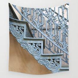 Savannah Blue Staircase Wall Tapestry