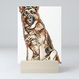 dog lovers Mini Art Print