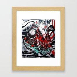 Atto di colore #4 Framed Art Print
