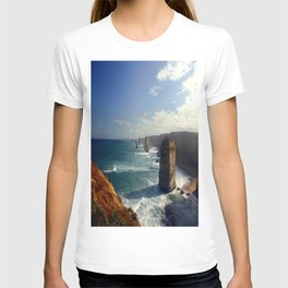 Rock Stacks & Gigantic Mainland Cliffs T-shirt