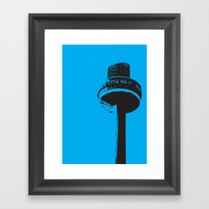 Radio City Framed Art Print