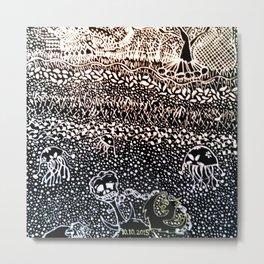 Black Book Series - Compact 01 Metal Print