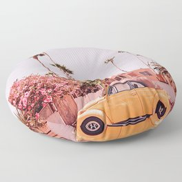 Simple Classic Car Floor Pillow