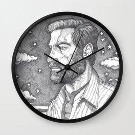 Men at Sea: Logan Wall Clock