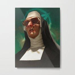 Sister Daniele Metal Print