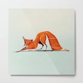 Fox 2 Metal Print