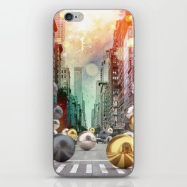 New York City Spill iPhone Skin