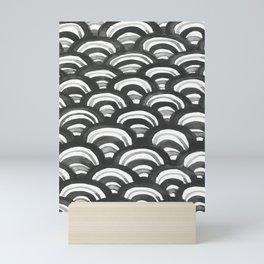 Wave Pattern Three Mini Art Print