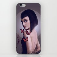 rogue iPhone & iPod Skins featuring Rogue by Whendell