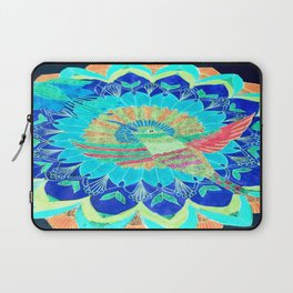 I'd rather be a hummingbird caged in your heart Laptop Sleeve