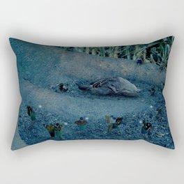 Dearly Departed - (A Fairy Funeral) Rectangular Pillow