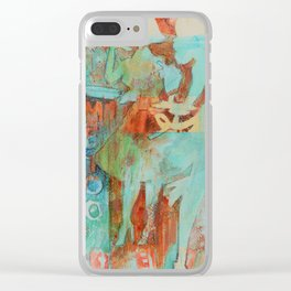She's not here to serve you Clear iPhone Case