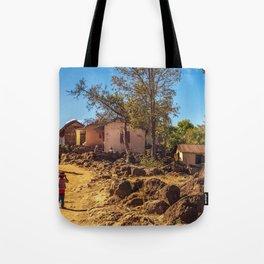 Village of Madagascar Tote Bag