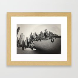 Bean Framed Art Print