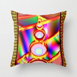 Window of fantasy  3 Throw Pillow