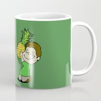 psych Mugs featuring Psych! (Green Version) by AriesNamarie
