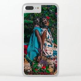 Immmy & Mwasiti Clear iPhone Case