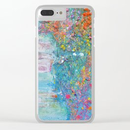 Tides of change (New beginnings) - original textured painting, prophetic art Clear iPhone Case
