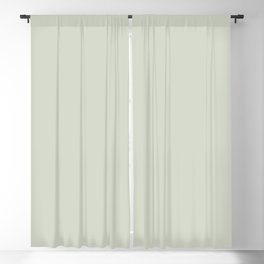 Light Pastel Green Gray Neutral Off-white Solid Color Parable to Valspar Aspiration 5004-1A Blackout Curtain