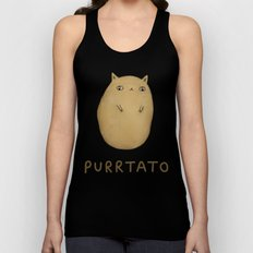 Purrtato Unisex Tank Top