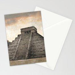 Mayan pyramid - Mexico Stationery Cards