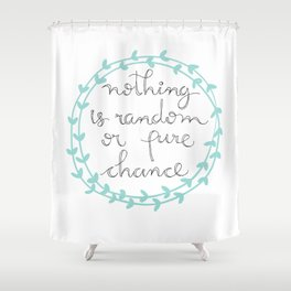 Random Shower Curtain